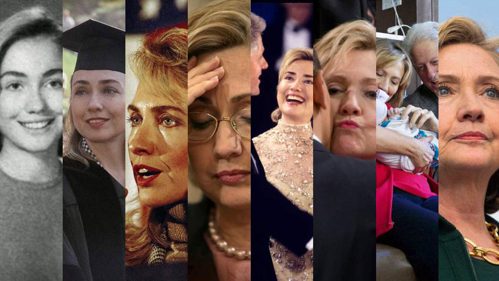 Jeta e Hillary Clinton në 20 foto