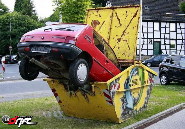 40 aksidentet më të çuditshme në trafik